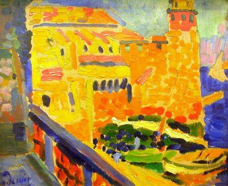 Le Phare де Коллиур по André Derain (1880-1954, France)