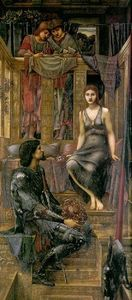 Edward Coley Burne-Jones - Король Cophetua и Нищий дева