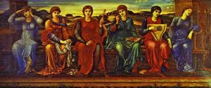 Edward Coley Burne-Jones - часы
