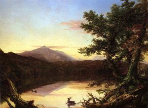 Thomas Cole - Schroon Озеро
