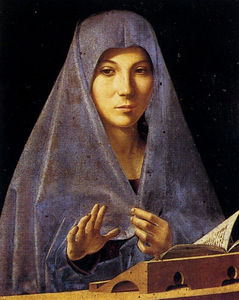 Antonello Di Giovanni Di Antonio (Antonello Da Messina) - Благовещение