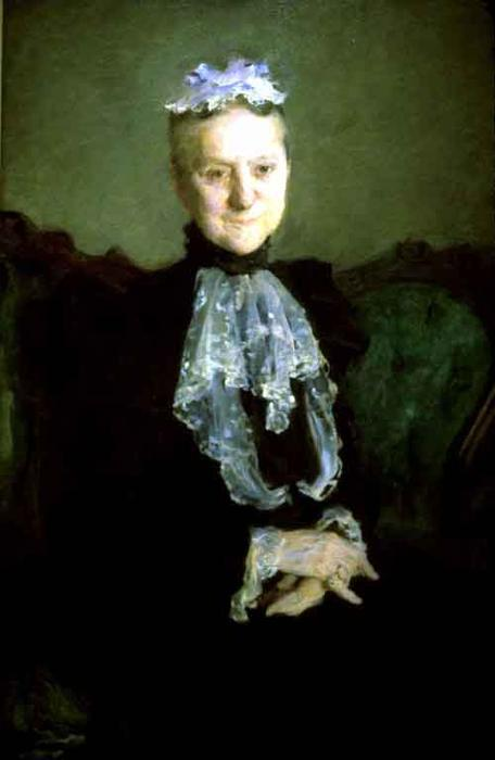 г жа Александр  Биддл , масло по Cecilia Beaux (1855-1942, United States)