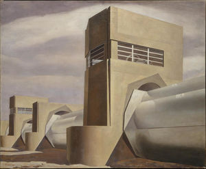 Charles Rettew Sheeler Junior - Вода