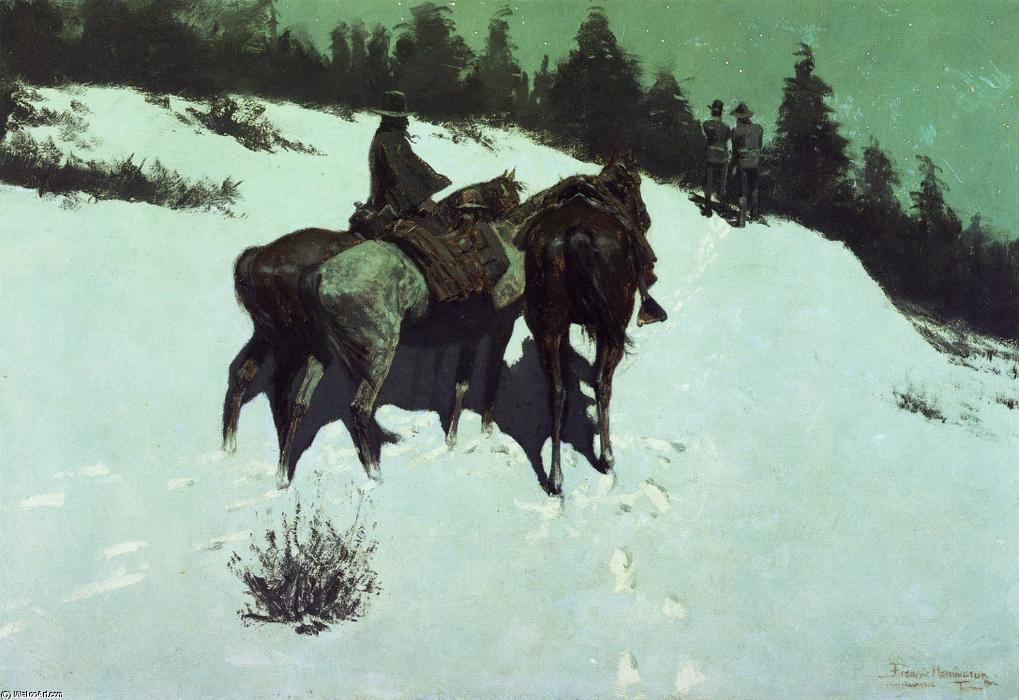 Разведка, 1902 по Frederic Remington (1861-1909, United States)