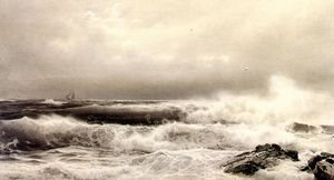 William Trost Richards - a шторм