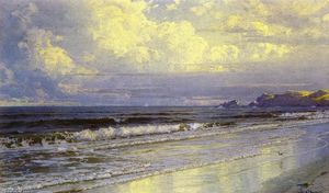 William Trost Richards - Второй пляж, Neweport