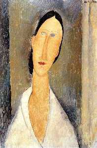 Amedeo Modigliani - Ханка Zborowska