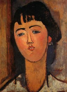 Amedeo Modigliani - Портрет женщины