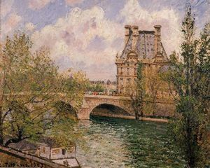 Camille Pissarro - Павильон де Флор и Pont Royal