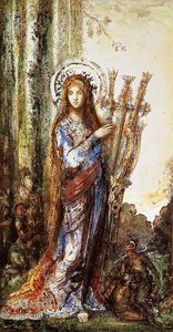 Gustave Moreau - Сатиры