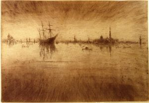 James Abbott Mcneill Whistler - Ноктюрн