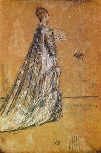 James Abbott Mcneill Whistler - Голубом платье