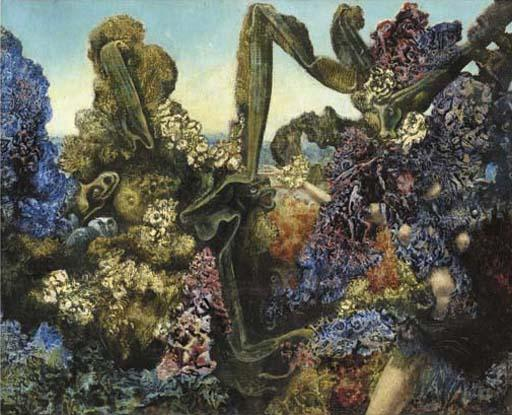Вьюнок! Вьюнок! по Max Ernst (1891-1976, Germany)
