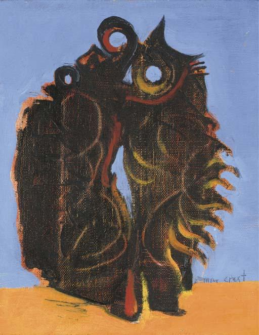 Oiseaux 1 по Max Ernst (1891-1976, Germany)