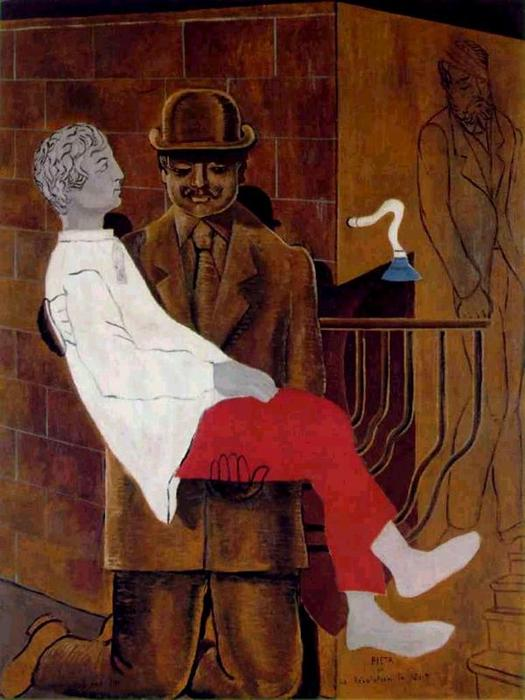 Пьета или Революция Ночь, СКУЛЬПТУРА по Max Ernst (1891-1976, Germany)