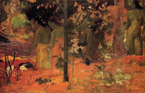 Paul Gauguin - Купальщицы