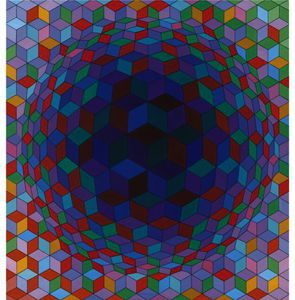 Victor Vasarely - Cheyt-E