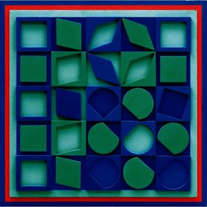 Victor Vasarely - F-Вер-БЛЮ