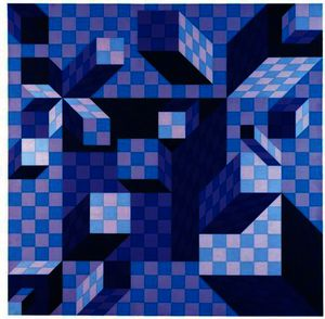 Victor Vasarely - Ouivar