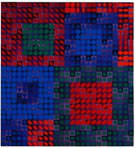 Victor Vasarely - Ourc-С
