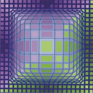 Victor Vasarely - сфера