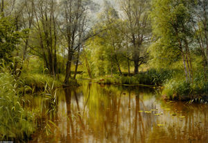 Peder Mork Monsted - Alandskab я Solskin Собственная Forarsdag