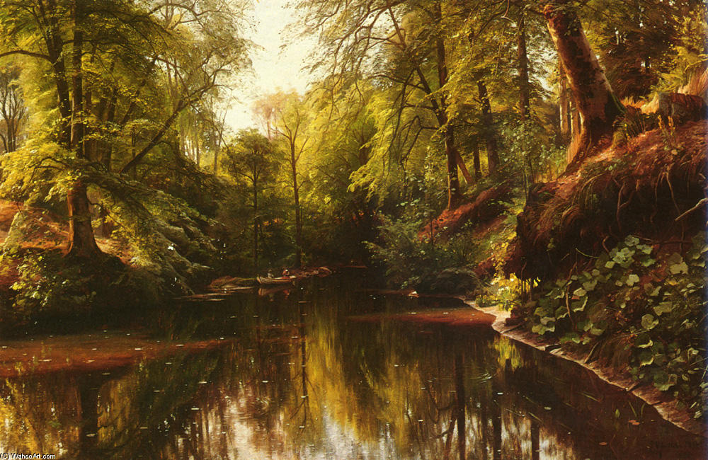 В Seaby по Peder Mork Monsted (1859-1941, Denmark) | Качественные Печати В Музеях Peder Mork Monsted | WahooArt.com