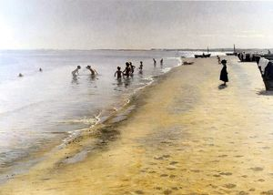 Peder Severin Kroyer - Диа-де-Verano ан Skagen