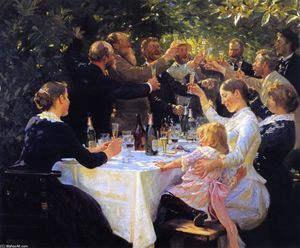 Peder Severin Kroyer - Хип, хип, ура!