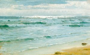 Peder Severin Kroyer - Мар ан Skagen