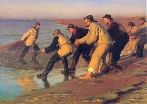 Peder Severin Kroyer - Пескадорские En La Playa