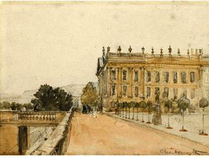 David Cox - Chatsworth House, Дербишир
