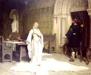 Edmund Blair Leighton - Леди Годива
