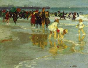 Edward Henry Potthast - Купальщицы