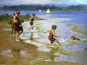 Edward Henry Potthast - Young Купальщицы 1