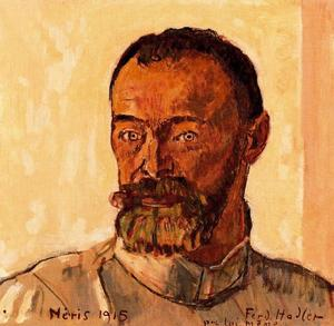 Ferdinand Hodler - Self-portrait 1