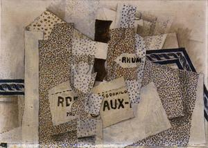Georges Braque - Бутылка рома