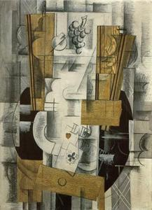 Georges Braque - Фрукты тарелка, Ace Of Clubs