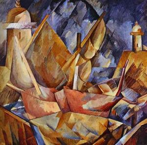 Georges Braque - Гавань в Нормандии