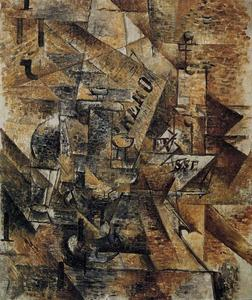 Georges Braque - Натюрморт с парой бандерильи
