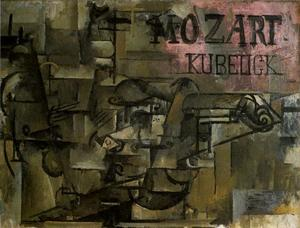 Georges Braque - Скрипка Моцарт Kubelick
