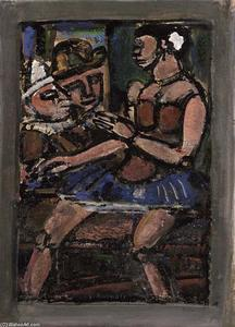 Georges Rouault - цирка цифры
