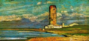 Giovanni Fattori - В tower of marzocco