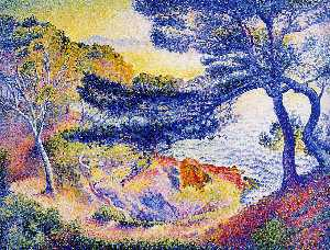 Henri Edmond Cross - Мыс Layet Прованс