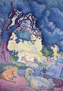 Henri Edmond Cross - Козы