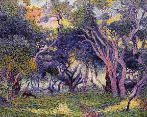 Henri Edmond Cross - В лесу