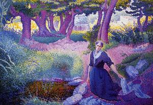 Henri Edmond Cross - Прачка