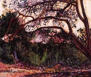 Henri Edmond Cross - Woded Пейзаж