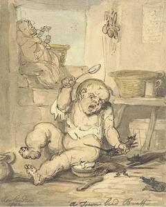 Thomas Rowlandson - Город разводят Брэтт