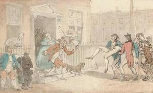 Thomas Rowlandson - После дуэли